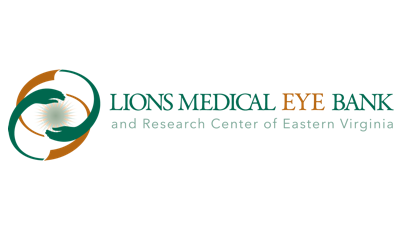 Lions Medical Eye Bank and Research Center of Eastern Virginia Logo