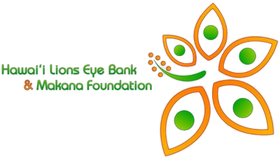Hawai'i Lions Eye Bank & Makana Foundation Logo