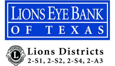 Lions Eye Bank of Texas Logo